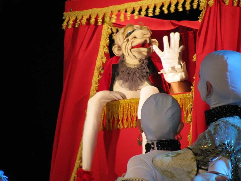 """""""Цахес"""". Єдина лялька у виставі. Фото - Л.Томенчук"""